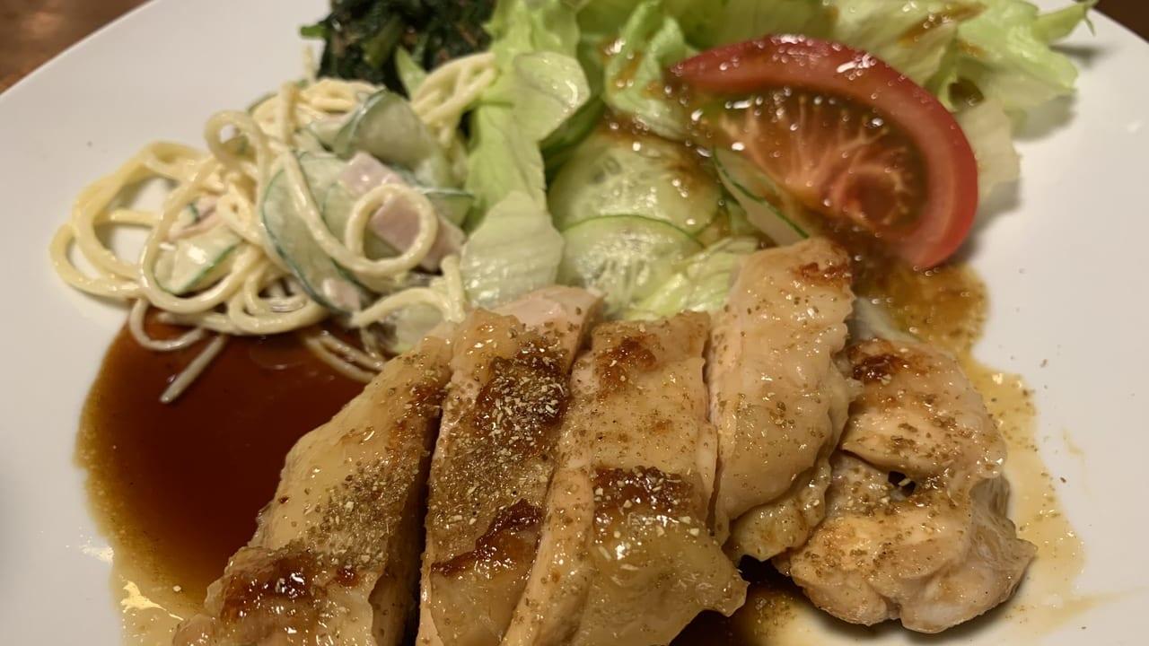 万里緒の鶏肉メニューアップ